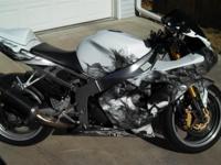 2004 Kawasaki Ninja 636cc, Full akrapovic titanium race
