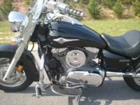 2004 Kawasaki Vulcan 500cc LTD motorcycle with 2,820