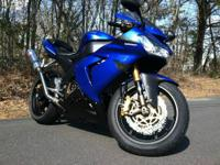2004 Kawasaki ZX10R with under 4000 miles! Going up