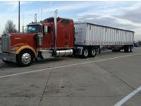 This Kenworth W900 is a 72 inch Sleeper. It has