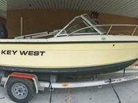 This 2004 21' Key West Dual Console 2020 boat is clean