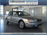 2.7L V6 DOHC, Alloy wheels, CD player, and Speed