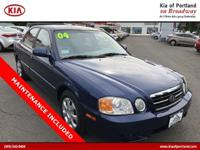 Check out this 2004 Kia Optima . Its transmission and