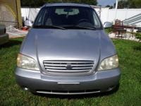 2004 KIA SEDONA EX ONLY $3490 NEGOTIABLE OR BEST OFFER