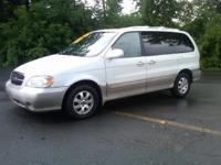 Options Included: N/A2004 KIA SEDONA WITH POWER SUNROOF