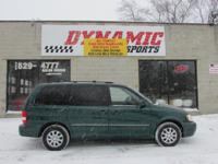 Exterior Color: dark green emerald, Body: Mini Van,