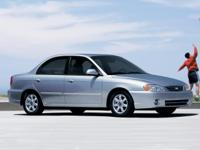 2004 Kia Blue Spectra CARFAX One-Owner.Call or stop by