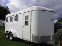 2004 Kiefer Built Horse trailer 3 horse slant Dressing