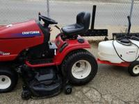 2004 Kohler Craftsman Pro 27 HPV Twin Power riding lawn