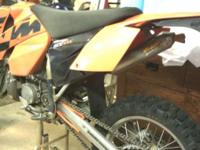 2004 KTM 300 EXC. CURRENT CO TAGS / TITLE. Hurt my