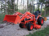 For sale is a 2004 Kubota B7610 tractor with LA-302
