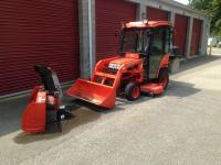 "2004 Kubota BX2230 4x4 Tractor W/ 60"" Belly Mower and"