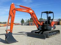 "Features: ROPS / FOPS Canopy 18"" Bucket w/ 4 Teeth Work"
