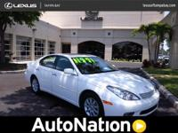 2004 Lexus ES 330 Our Location is: Lexus Of Tampa Bay -