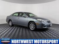 Clean Carfax Sedan with Sunroof and Heated Memory