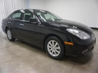 2004 Lexus ES Black 330 5-Speed Automatic with