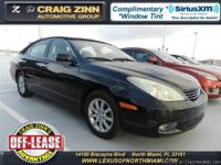 2004 Lexus ES 330 Sedan    $11,988