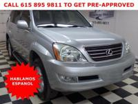 Solid and stately. this 2004 Lexus GX 470 banished all