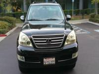 Options:  2004 Lexus Gx 470 Base 4Wd 4Dr Suv|Black|4Wd