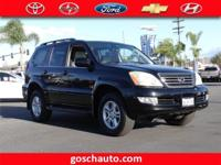 Gosch Auto Group is excited to offer this 2004 Lexus GX