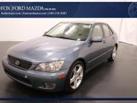 Sensibility and practicality define the 2004 Lexus IS