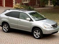 2004 Lexus RX 330. AWD and Gray Cloth. All the right