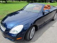 THIS 2004 LEXUS SC 430 CONVERTIBLE IS VERY CLEAN and