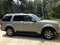 I have for sale a 2004 Lincoln Aviator. The mileage is