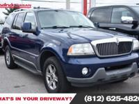 Clean CARFAX. Dark Blue Pearl Clearcoat Metallic 2004