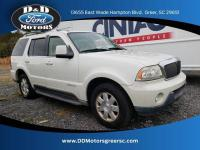 Ceramic White 2004 Lincoln Aviator AWD 4.6L V8 DOHC 32V