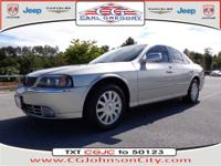 This silver 2004 Lincoln LS Luxury has everything you