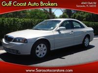 Options Included: N/A2004 LINCOLN LS LUXURY SEDAN! ONLY