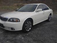 2004 Lincoln LS Sport. This car has a 3.9L V8 engine,