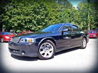 The Lincoln LS has a smooth ride; plenty of seating