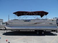 2004 Lowe 25' JM 250 SD tri-toon - This boat is in