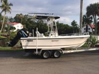 2004 Mako 201 Center Console 200hp Optimax. READY FOR