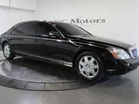 This is a loaded Maybach 62 with all the desired