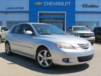 Gasoline! Silver Bullet! This 2004 Mazda Mazda3 is for