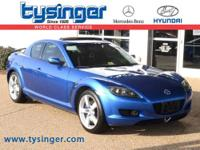 Winning Blue Metallic RX-8 RWD, Check out the Clean