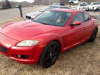 2004 Mazda RX-8 4dr coupe, 6 speed this car has a cd