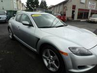 We offer you the sporty Mazda RX8. It has automatic
