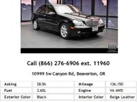 2004 Mercedes C240 V6 4Matic AWD Sport Sedan. Leather,