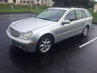 2004 Mercedes-Benz C Class C240 5 Door Wagon 4MATIC