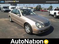 2004 Mercedes-Benz E-Class. Our Area is: AutoNation