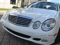 1 OWNER -- 2004 Mercedes Benz E500 Luxury Sedan with
