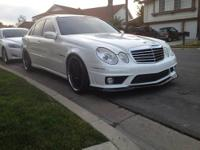 2004 Mercedes Benz E-55 AMG 63,XXX Miles Asking $
