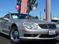 2004 MERCEDES SL500 @@ SPOTLESS ROADSTER @@ LOW MILES