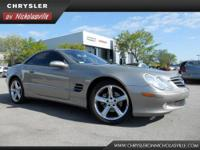This 2004 Mercedes-Benz SL-Class SL500 is offered to