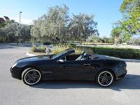 This 2004 Mercedes-Benz SL500 HARD TOP convertible has