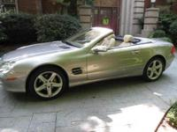 2004 Mercedes-Benz SL-Class SL500 Base. Comfort Package